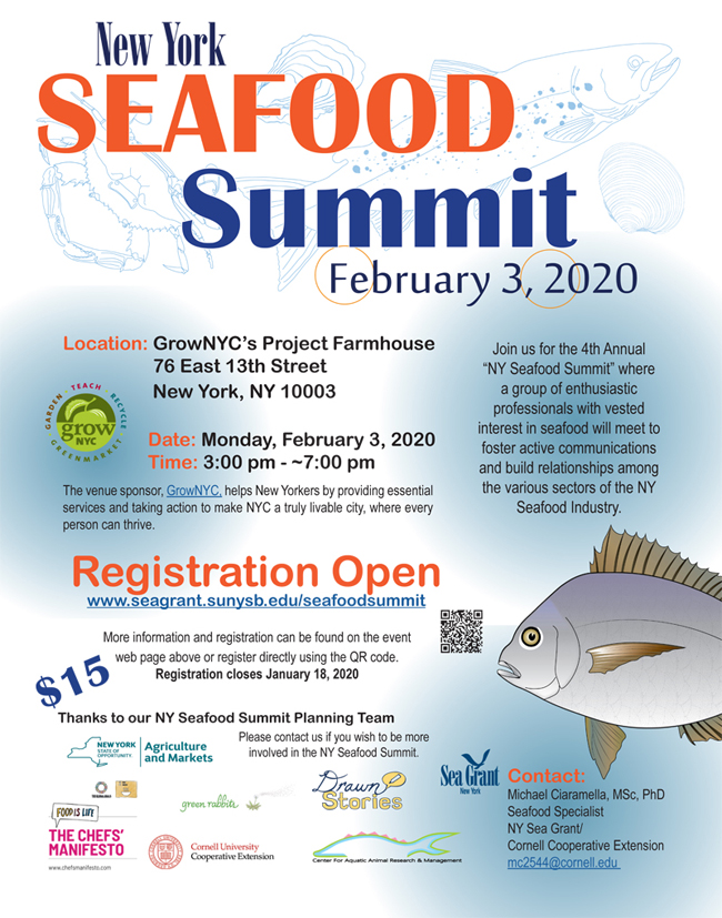 NYSG: Seafood Safety And Technology (New